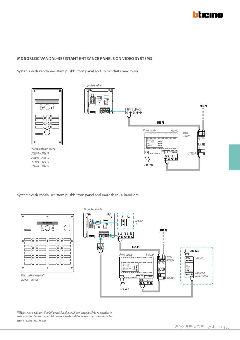 hight resolution of 4 wire intercom wiring diagram elvox inter wiring diagram inspirational bticino wiring diagrams 14n