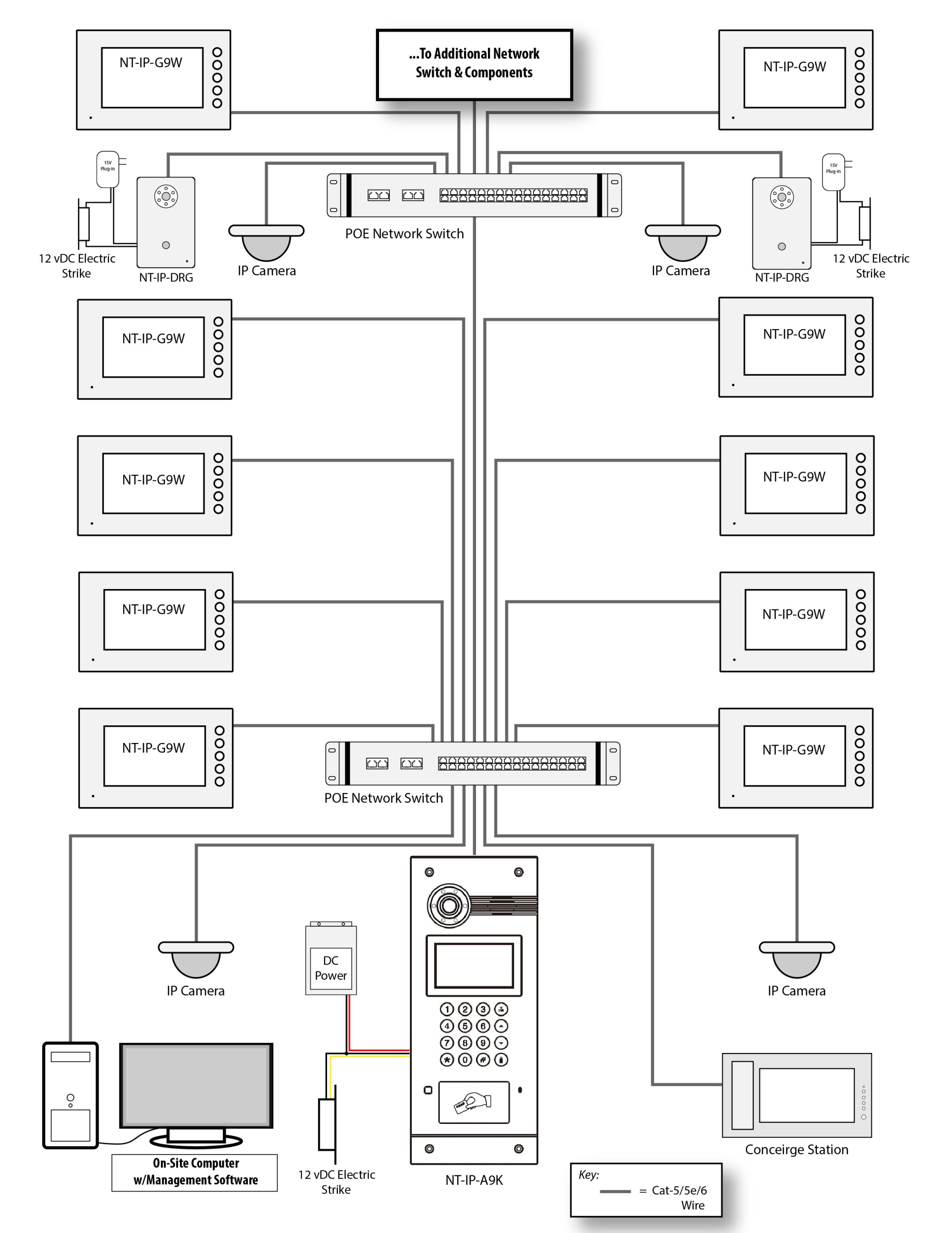 hight resolution of 4 wire intercom wiring diagram