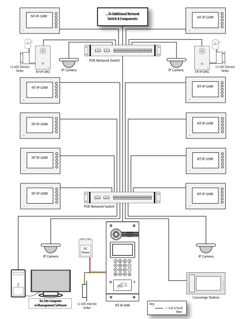 small resolution of 4 wire intercom wiring diagram