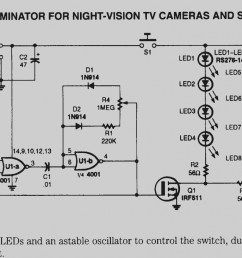 night vision camera wiring diagram simple wiring diagram ford camera wiring schematic infrared camera wiring schematic [ 1719 x 990 Pixel ]