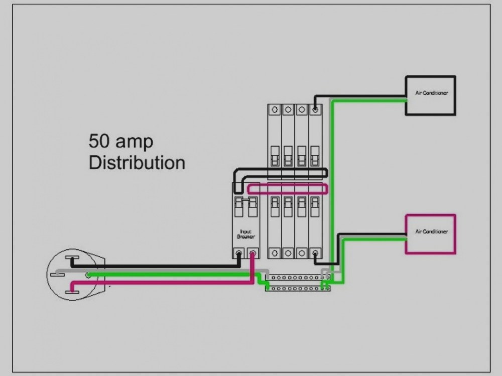 medium resolution of 50 amp rv wiring diagram inspirational 50 amp rv plug wiring diagram best sample with