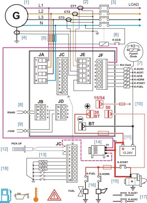 50 Amp Transfer Switch Wiring Diagram | Free Wiring Diagram