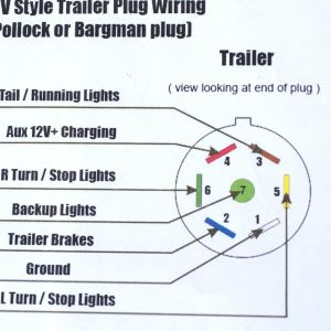 6 Pin Trailer Connector Wiring Diagram | Free Wiring Diagram