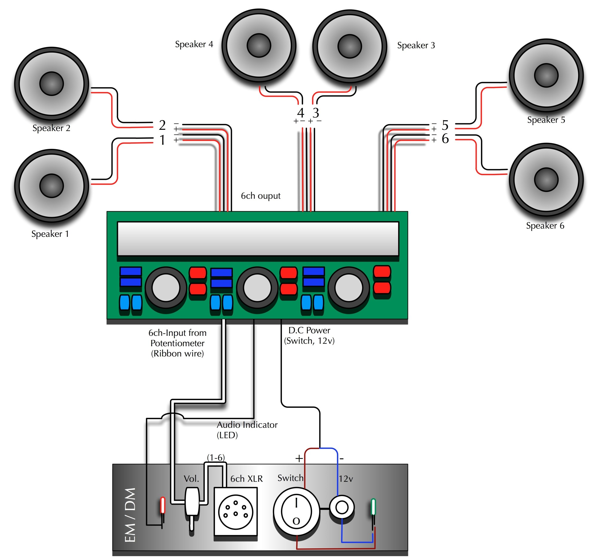 hight resolution of wiring 4 channel amp 6 speakers wiring diagram schema 6 speakers 4 channel amp wiring diagram 6 channel amp wiring