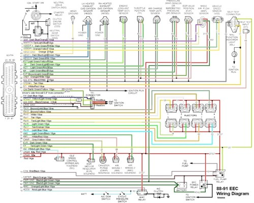 small resolution of 89 mustang radio wiring diagram