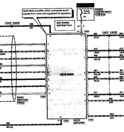 97 lincoln continental radio wiring diagram [ 1392 x 944 Pixel ]