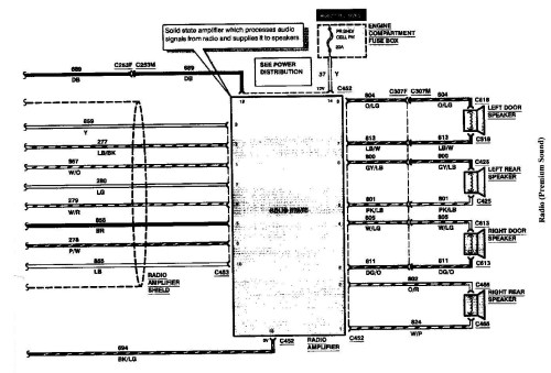 small resolution of 97 lincoln continental radio wiring diagram