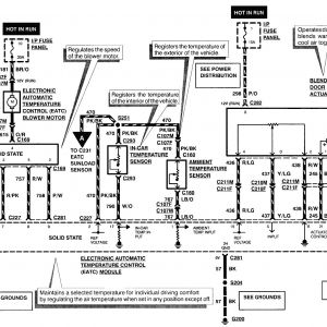 97 Lincoln Continental Radio Wiring Diagram | Free Wiring