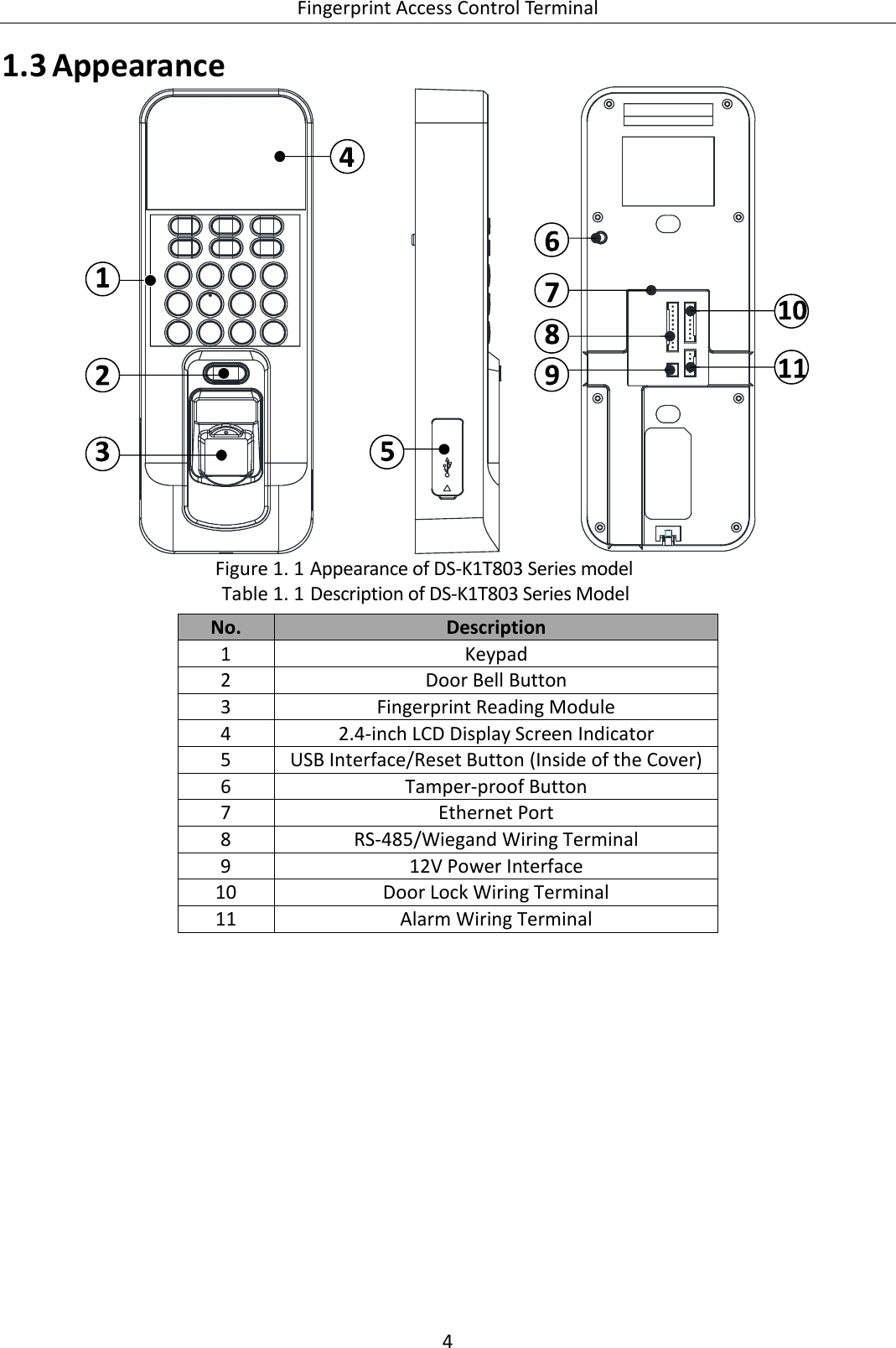 fingerprint access control wiring diagram