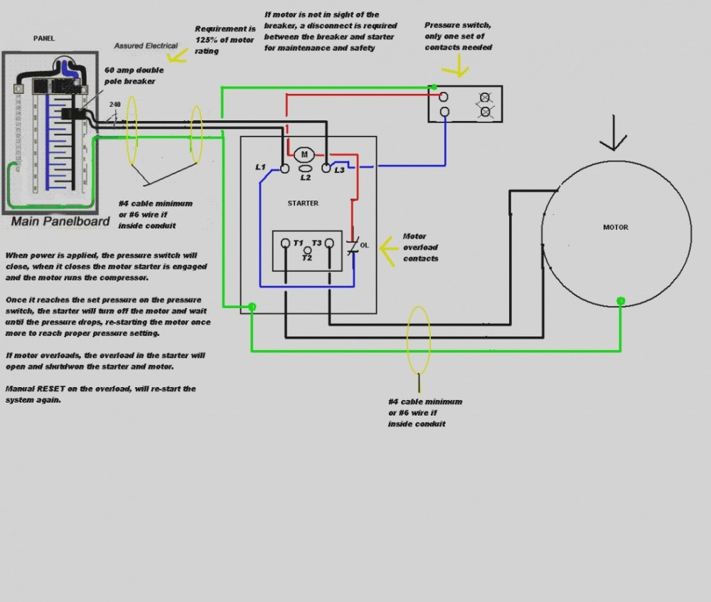 medium resolution of air compressor pressure switch wiring diagram new of 220 volt air pressor pressure switch wiring