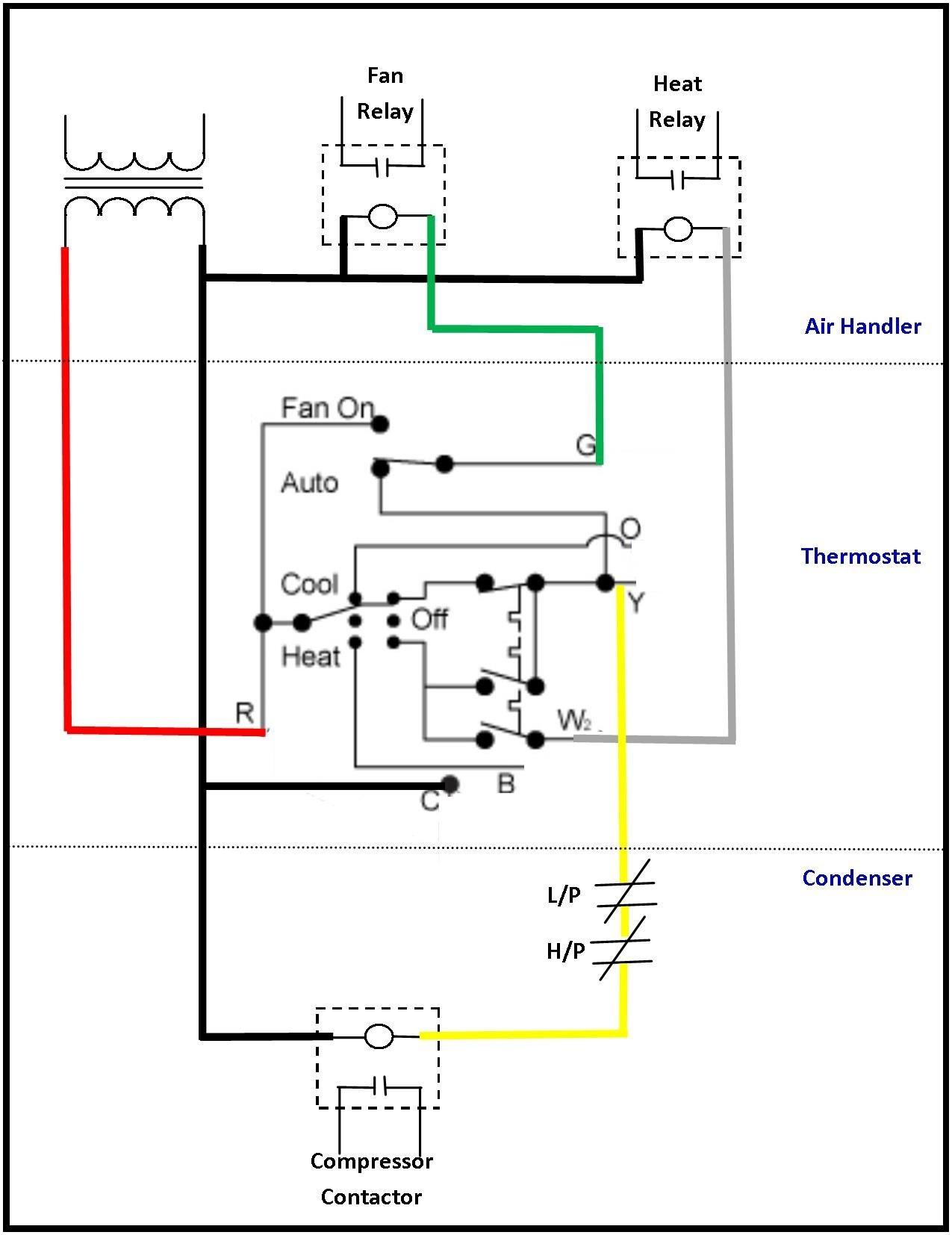 goodman fan relay wiring diagram electric sub meter air handler free