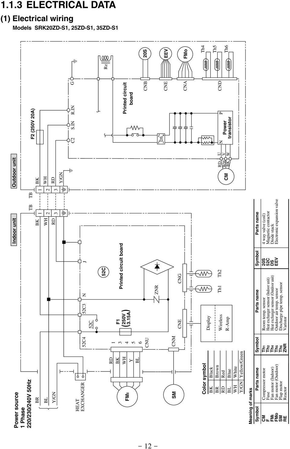 medium resolution of airtemp heat pump wiring diagram airtemp heat pump wiring diagram unique inverter wall mounted type