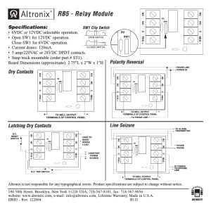 Altronix Relay Wiring Diagram | Free Wiring Diagram