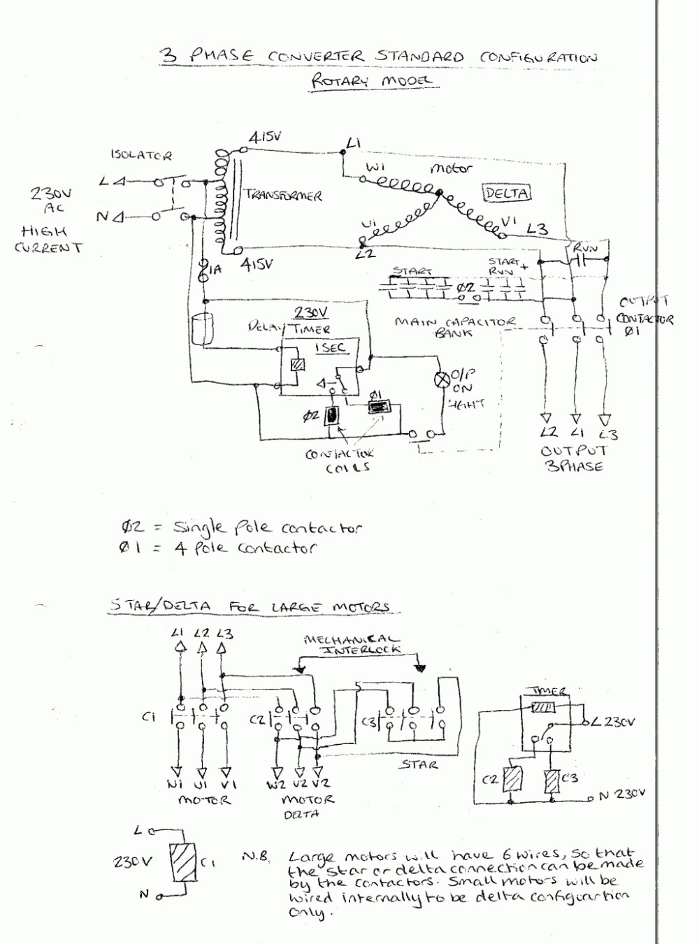medium resolution of american rotary phase converter wiring diagram free wiring diagram contactor diagram american contactor wiring