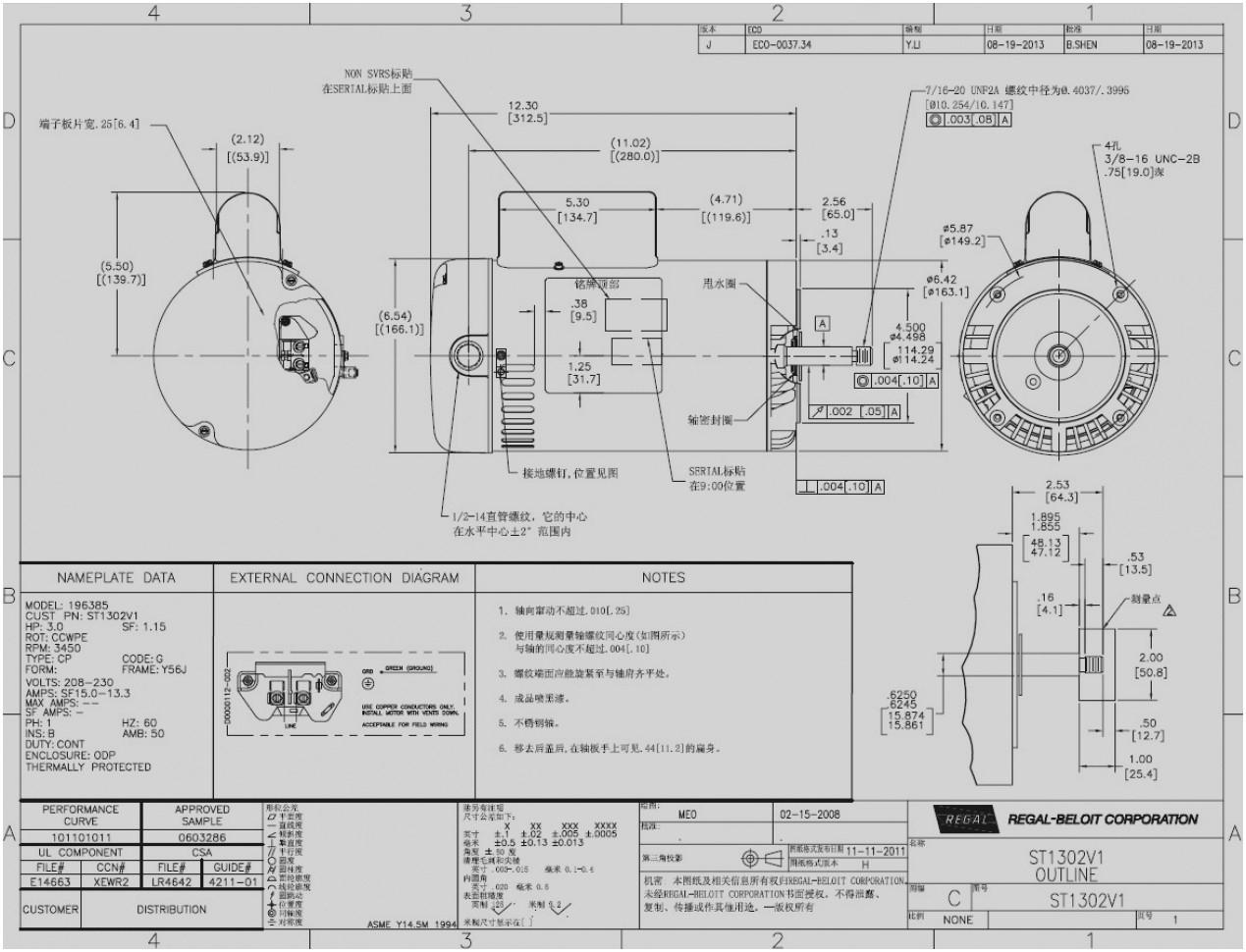 wiring a pool pump motor