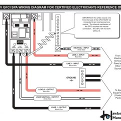 Arc Fault Circuit Breaker Wiring Diagram Hotpoint Cooker Free 2 Pole Gfci New Fine Using Red