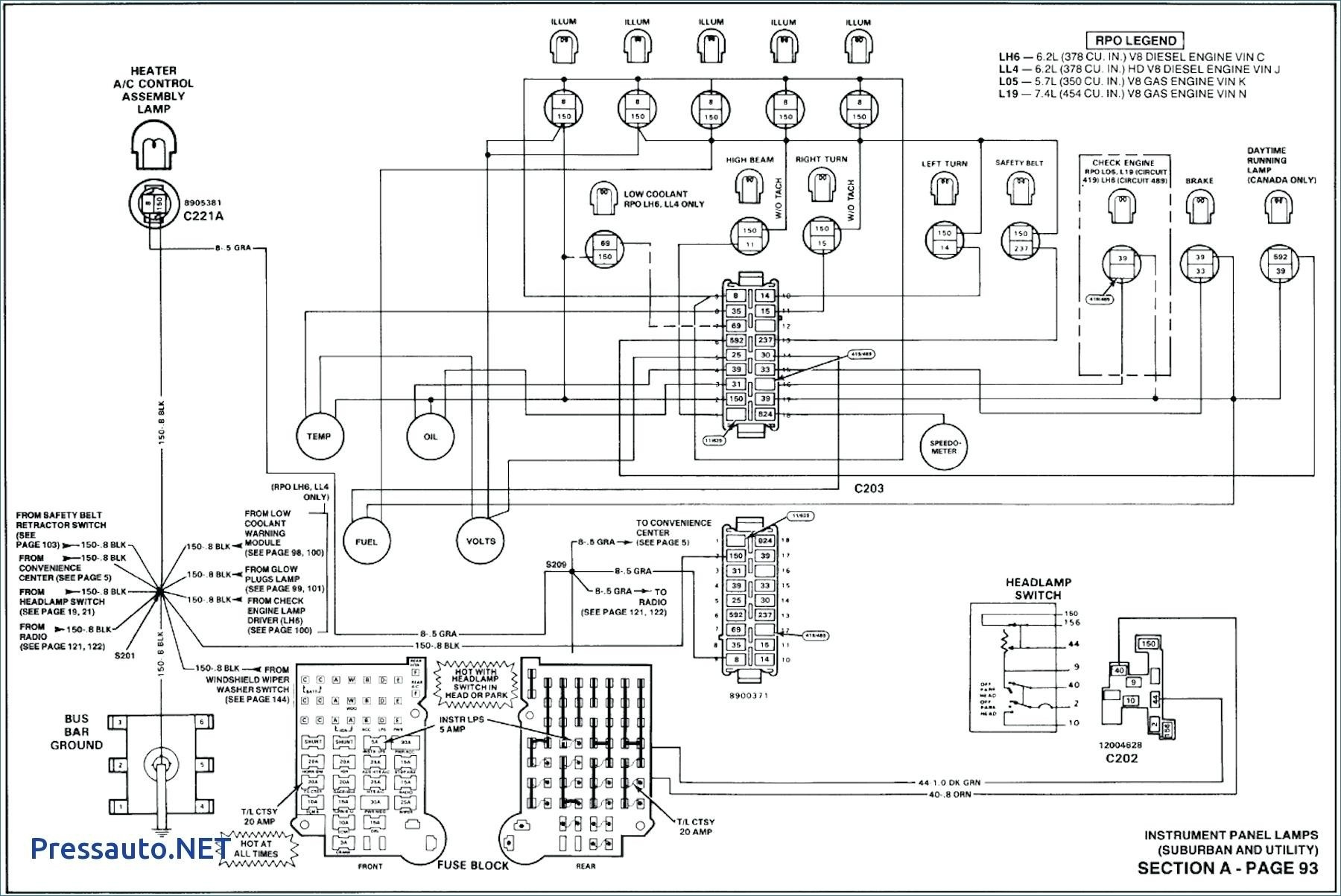 1990 C1500 Wiring Diagram