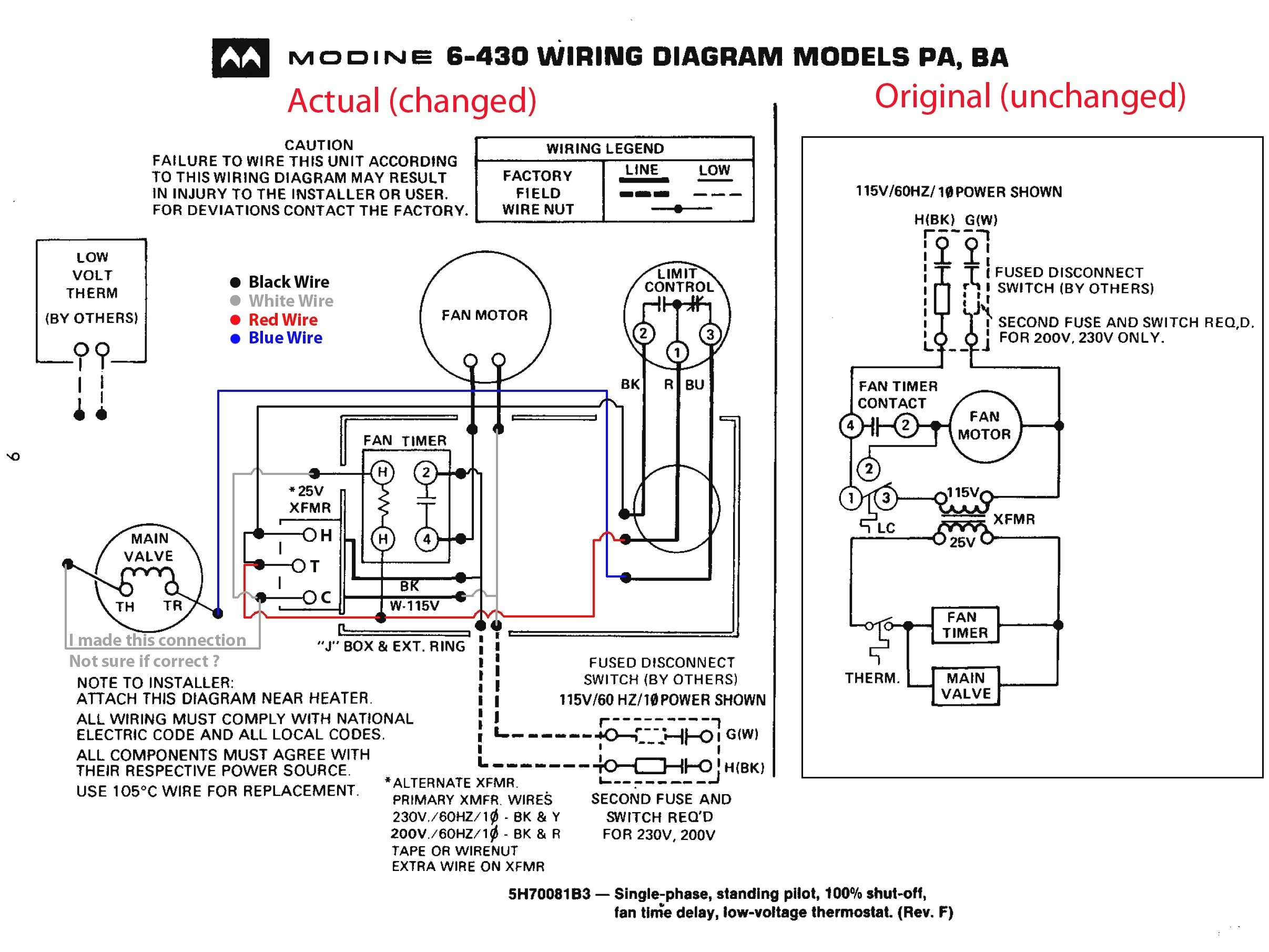 House Wiring Diagrams Heater Natural Gas | Wiring Diagram on