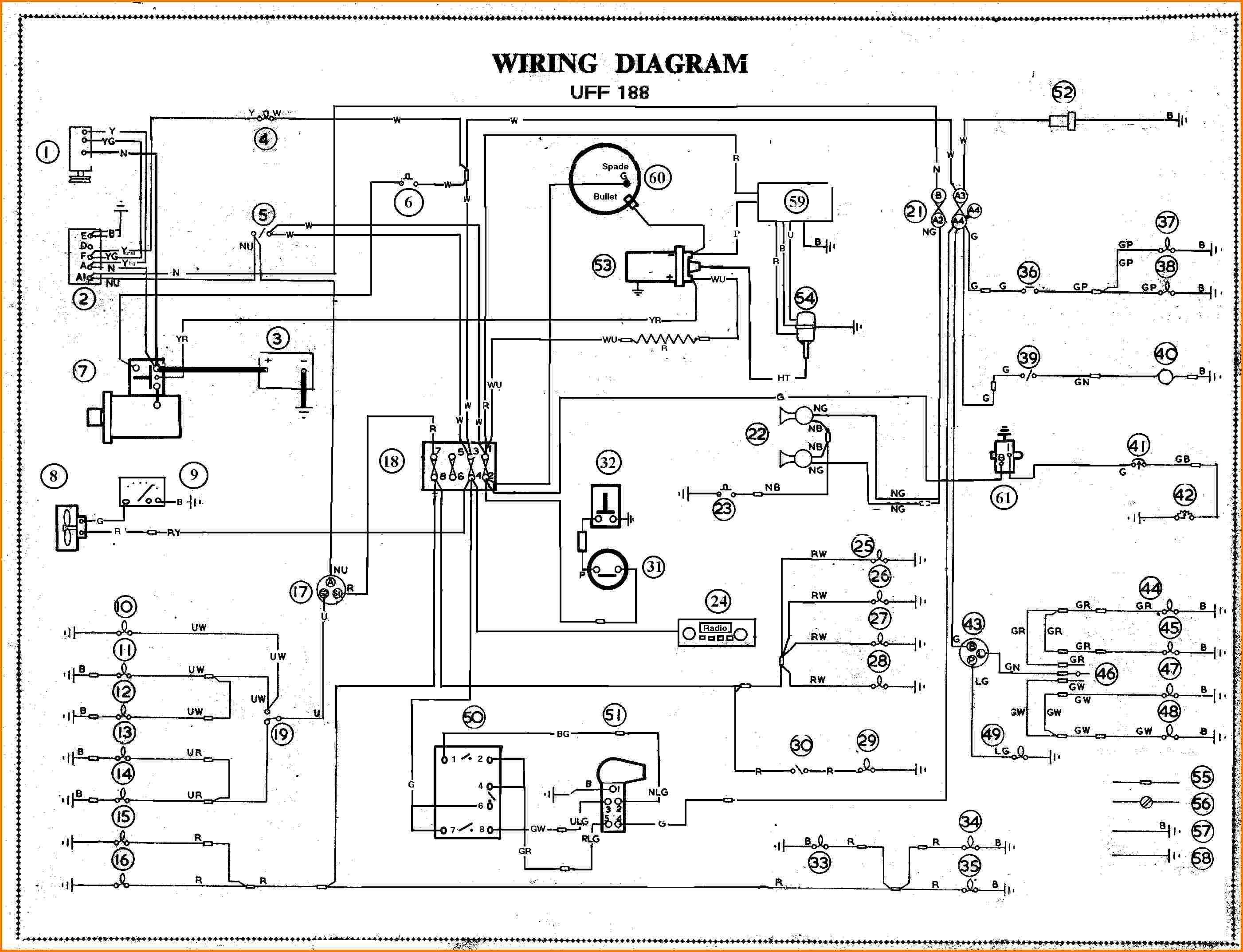 simple auto wiring diagrams