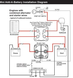automatic charging relay wiring diagram sure power battery isolator wiring diagram awesome blue sea 7601 [ 1547 x 1543 Pixel ]