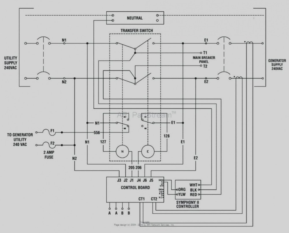 medium resolution of automatic standby generator wiring diagram