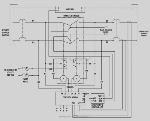 small resolution of automatic standby generator wiring diagram
