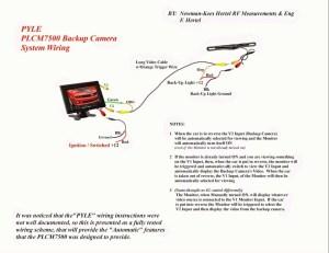 Backup Camera Wiring Schematic   Free Wiring Diagram