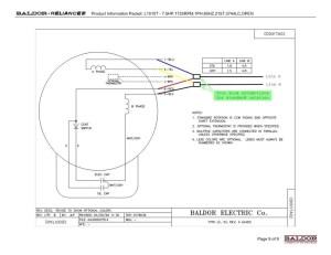 Baldor Motor Capacitor Wiring Diagram | Free Wiring Diagram
