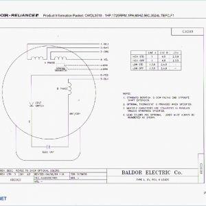 Baldor Reliance Industrial Motor Wiring Diagram | Free