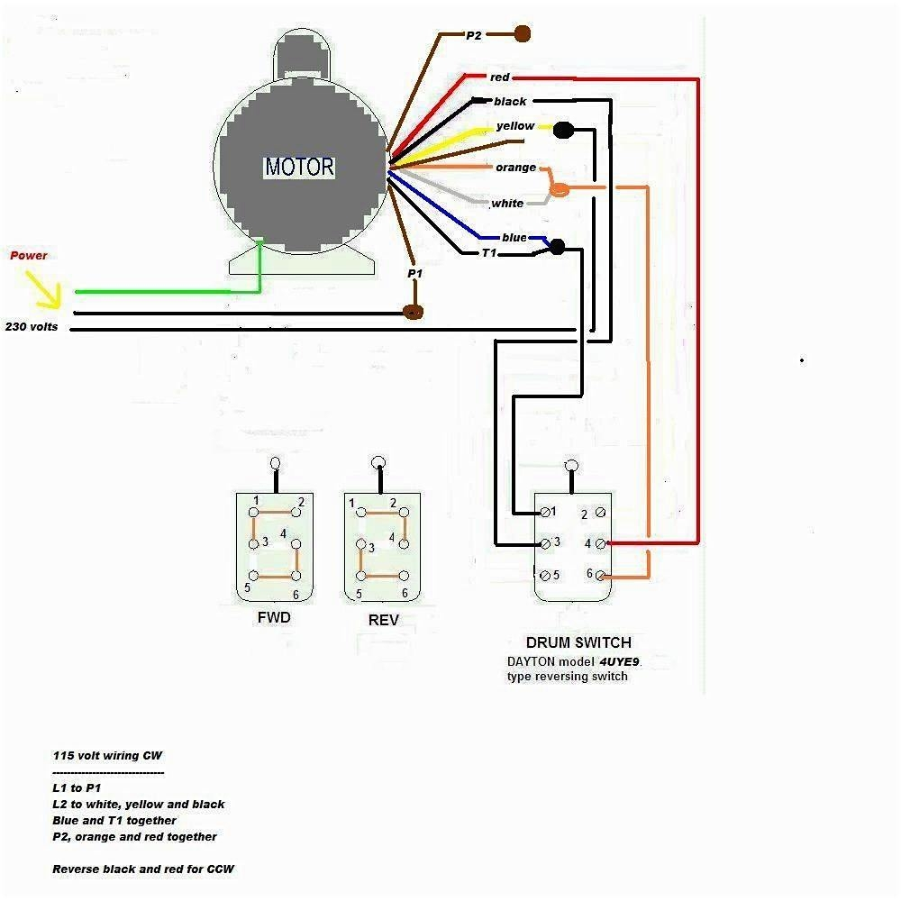 Volt Wiring Motor Run Single 220 Start Capacitor Diagrams Phase