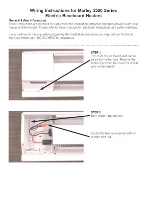 Baseboard Heater thermostat Wiring Diagram | Free Wiring Diagram