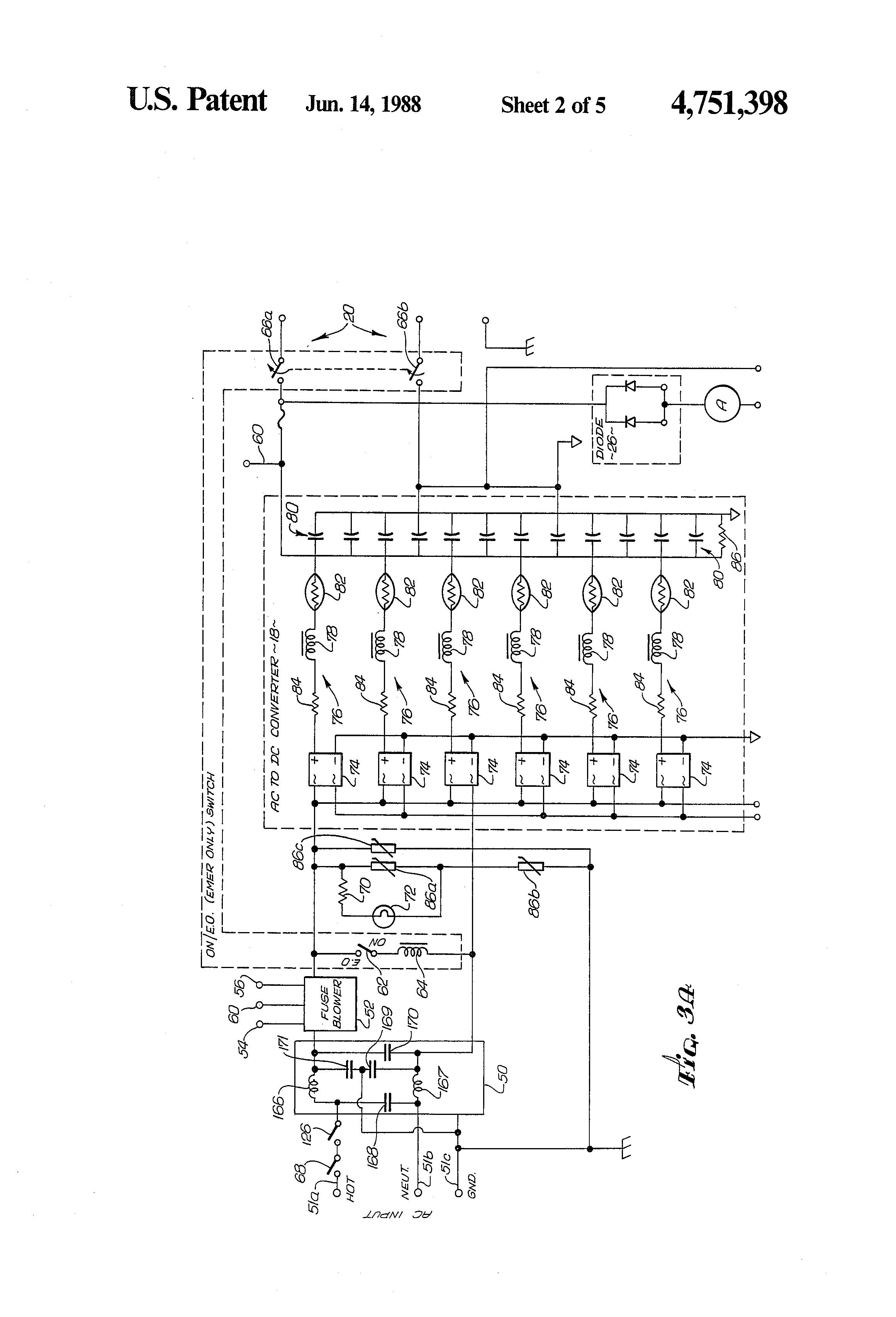 bodine emergency wiring diagram