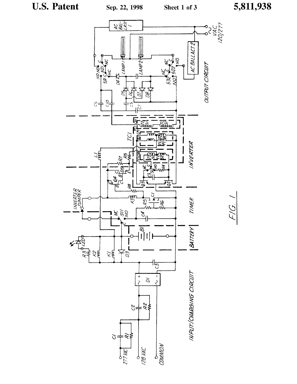 bodine b90 emergency ballast wiring diagram