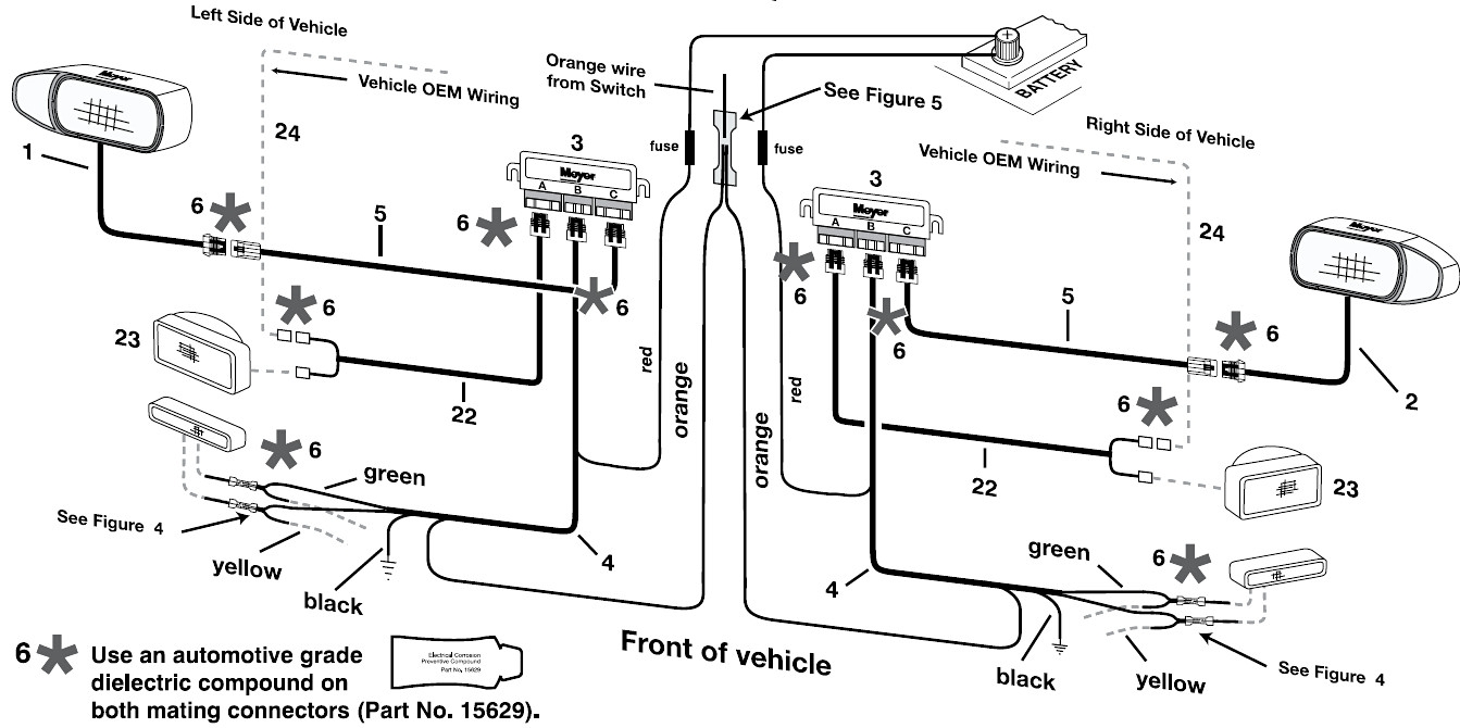 Wiring Diagram For A Boss Snow Plow boss 13 pin wiring
