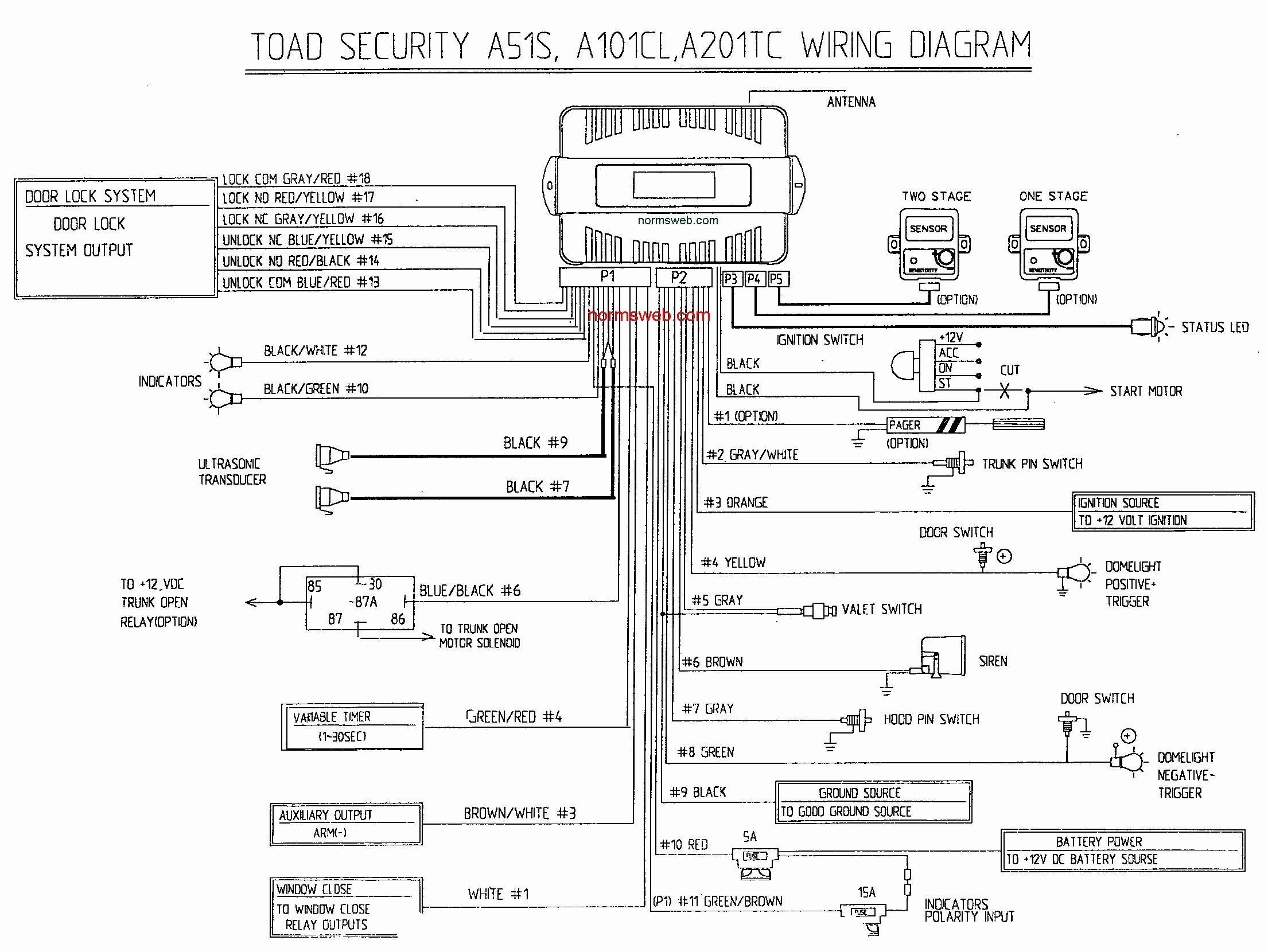bulldog security wiring diagram 4 wire trailer lights keyles entry system remote starter avital 4103 2004 f250 start diagrams car alarm