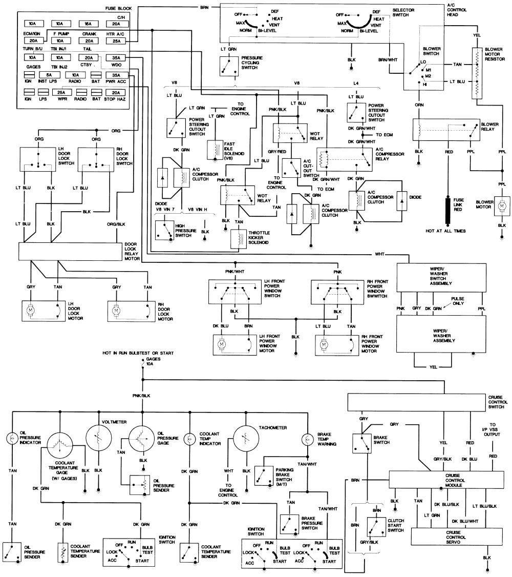 1979 corvette dash wiring diagram guitar pickups 89 database c4 speaker chevy 350 ignition