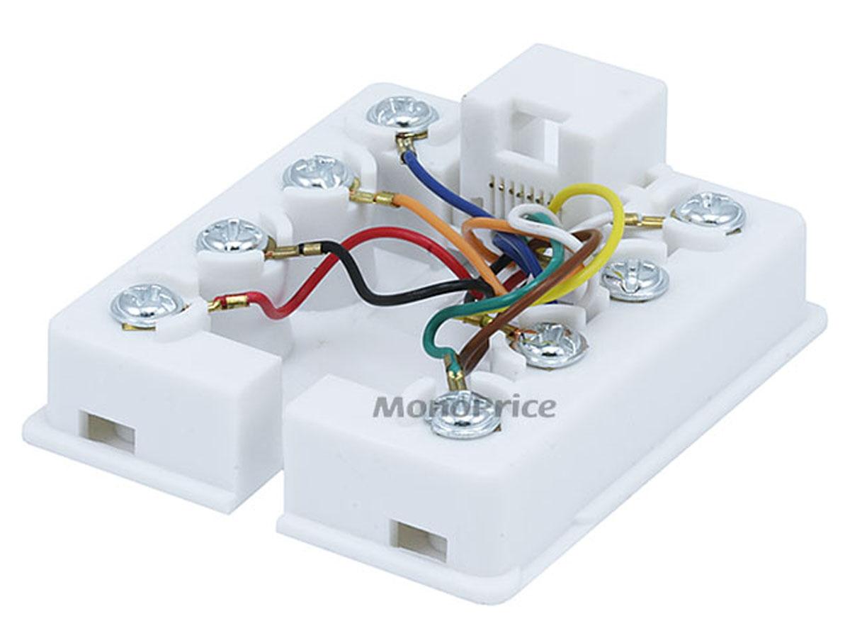 cat5e wiring diagram wall jack aharri com Serial Wire Diagram