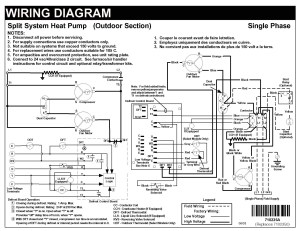 Central Air Conditioner Wiring Diagram | Free Wiring Diagram