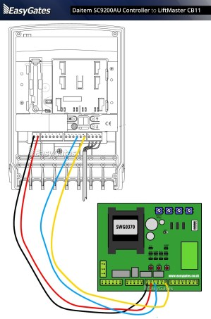 Chamberlain Liftmaster Professional 1 3 Hp Wiring Diagram