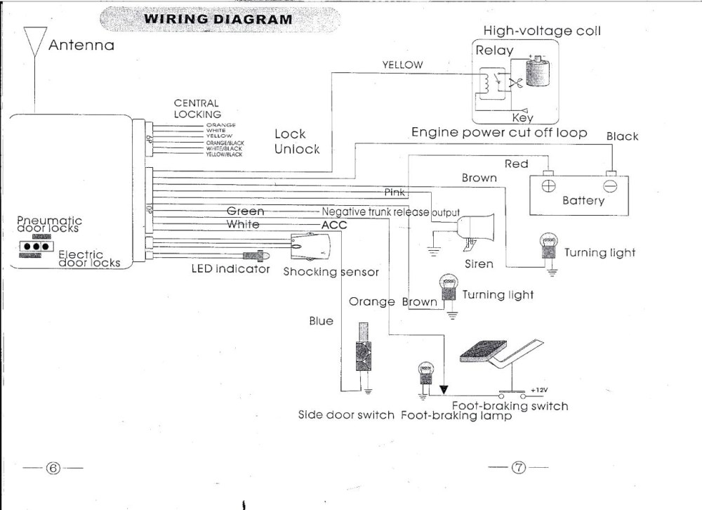 medium resolution of chapman vehicle security system wiring diagram