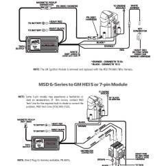 Msd 6al Wiring Diagram Hei 4 Pin 12v Relay Chevy Distributor Free