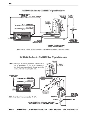 Chevy Hei Distributor Wiring Diagram | Free Wiring Diagram