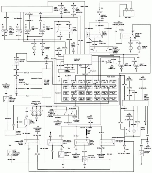small resolution of 2005 chrysler town and country wiring diagram data diagram schematic 2005 chrysler town and country engine diagram