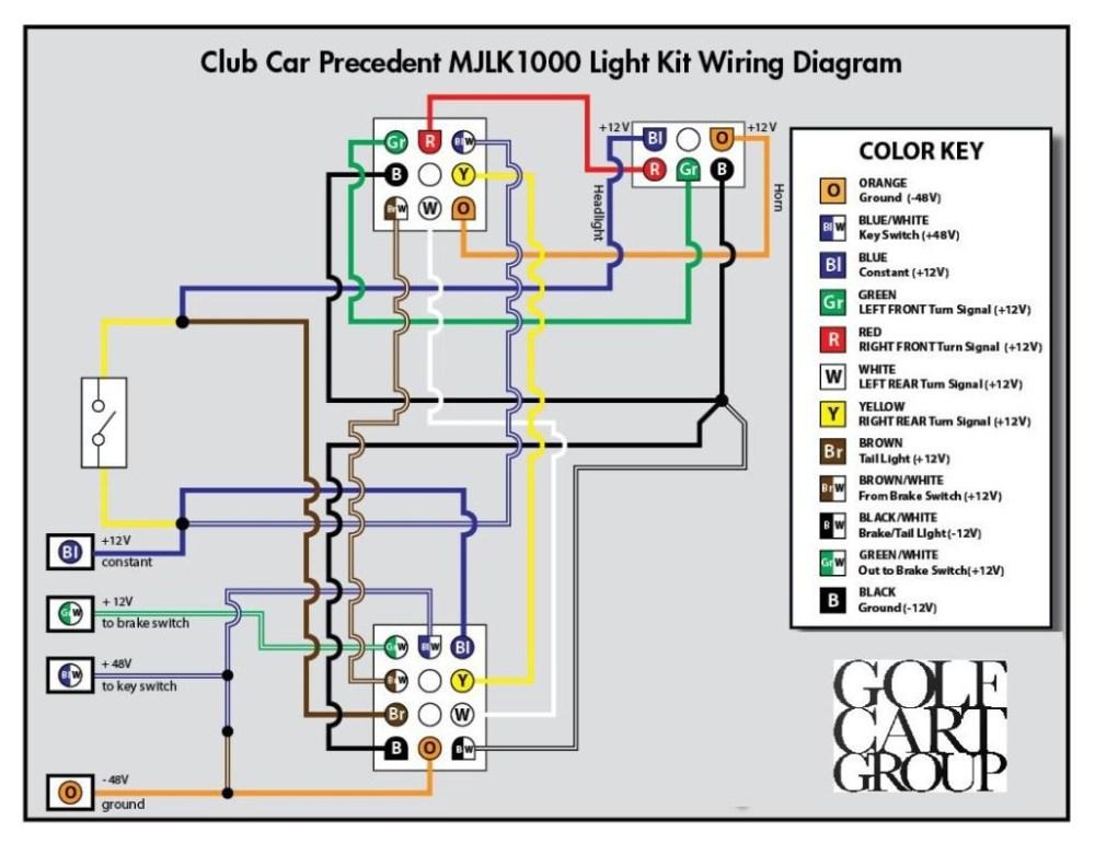 medium resolution of club car precedent light kit wiring diagram