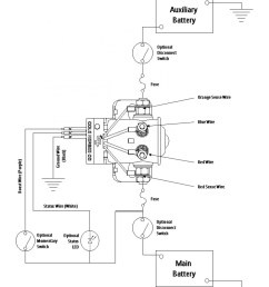 cole hersee battery isolator wiring diagram [ 1400 x 1749 Pixel ]