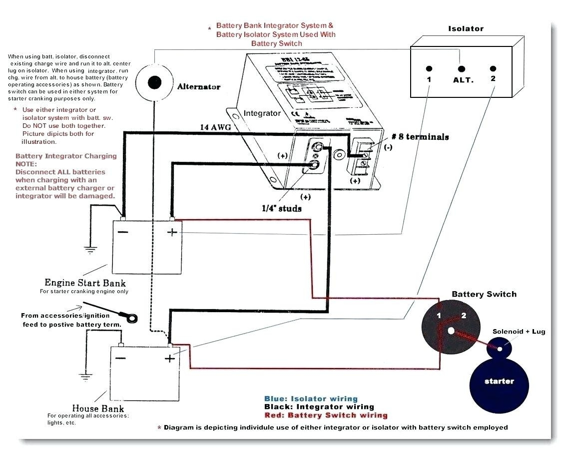 dual battery isolator switch wiring diagram