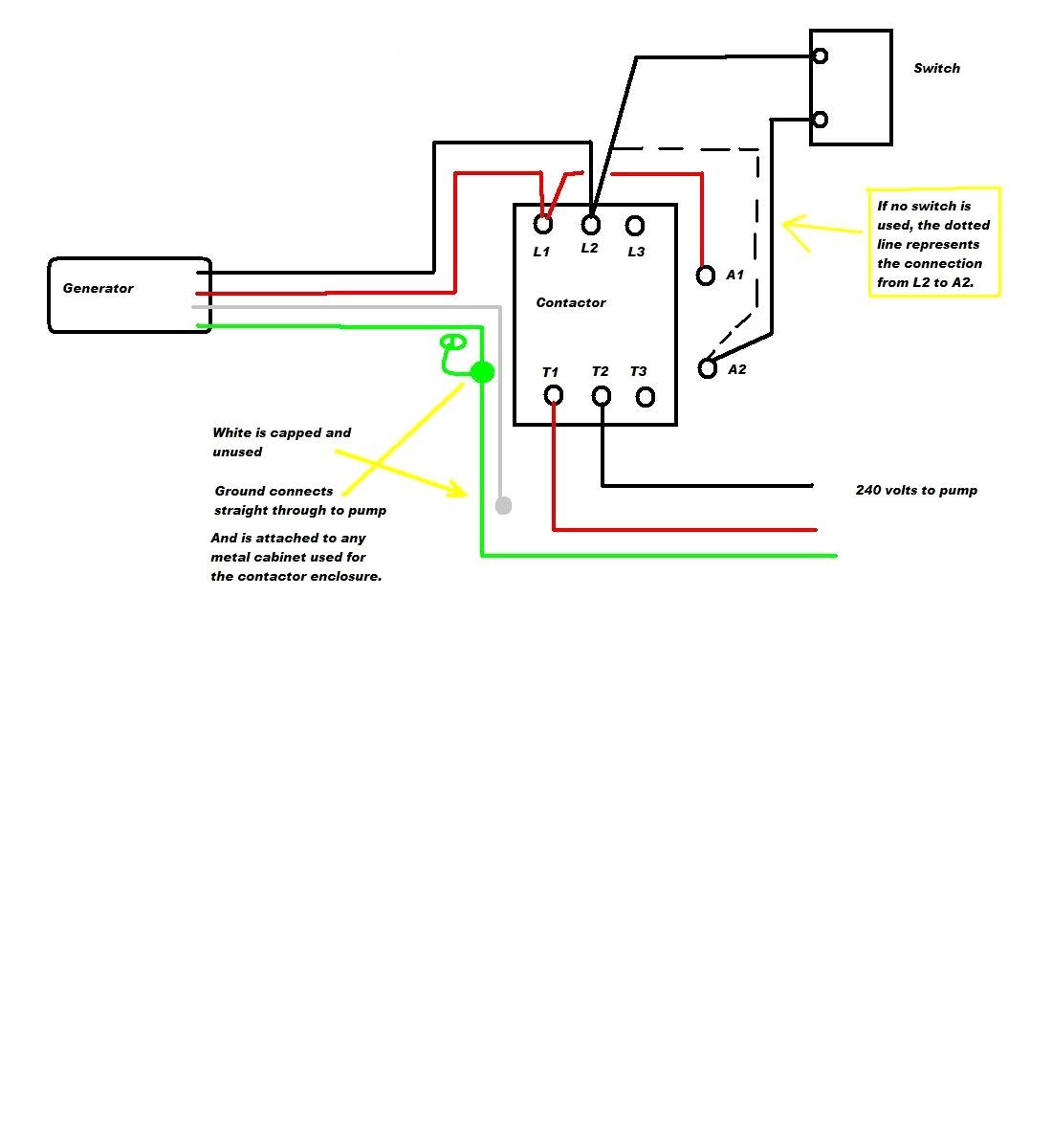 wiring 240 volt schematic