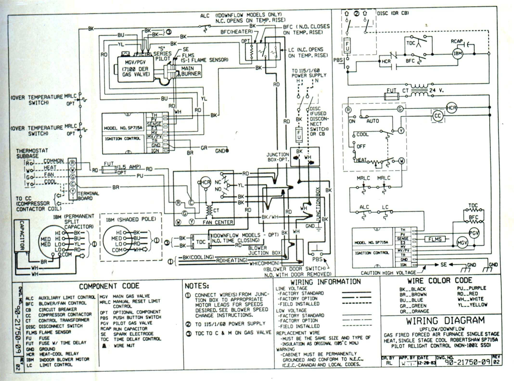 Central Ac Unit Motor Wiring Diagram