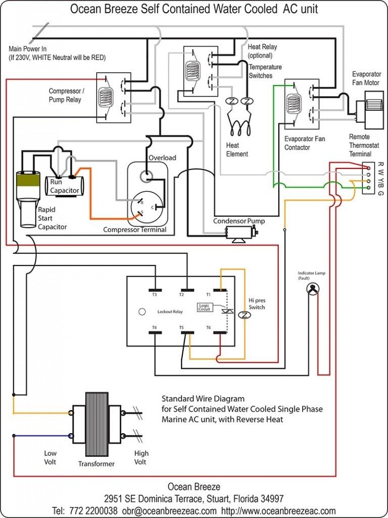 medium resolution of contactor wiring diagram ac unit