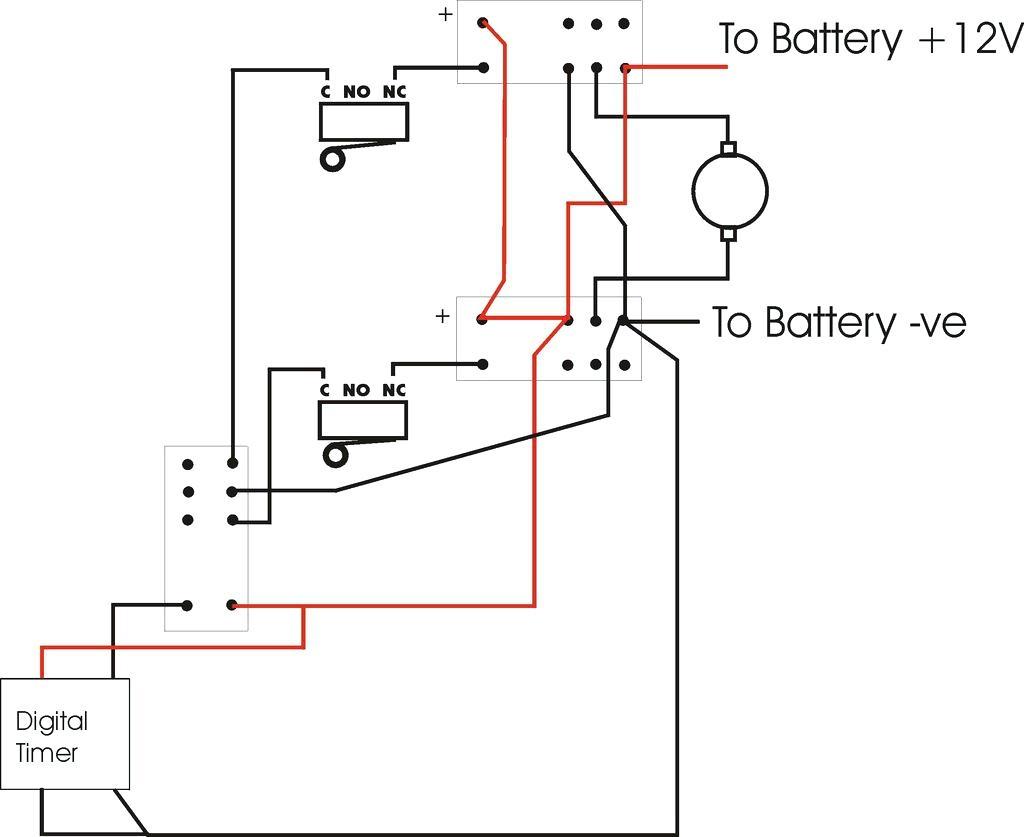 ramsey 9000 winch motor wiring
